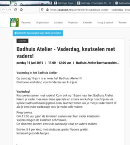 oudoost.nl badhuistheater