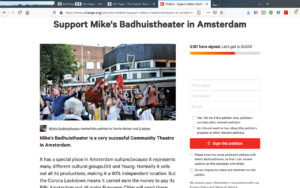 Petition Badhuistheater