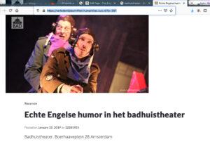 uva amsterdam badhuistheater