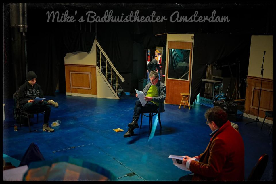 Rehearsing at Mike's Badhuistheater