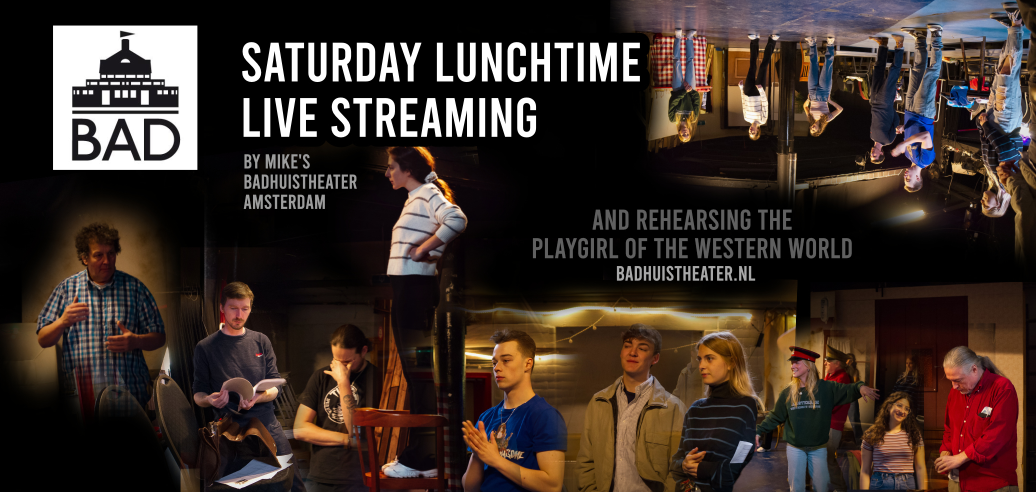 BADcast Saturday lunchtime live streaming