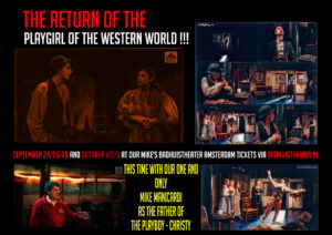 Return of the playgirl of the western world amsterdam